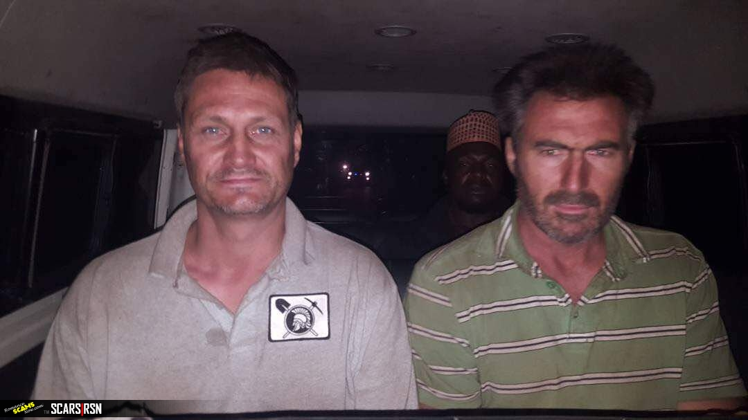 Mr Thomas Arnold Pearce and Mr Hendrik Gideon Smith, The 2 South African white Men Kidnapped in Maidaro Village, Nigeria
