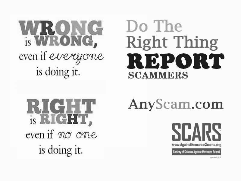 SCARS ™ / RSN™ Anti-Scam Poster 17