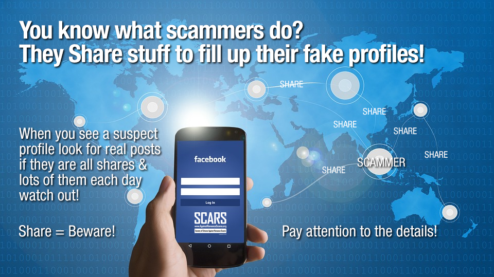 SCARS ™ / RSN™ Anti-Scam Poster 25