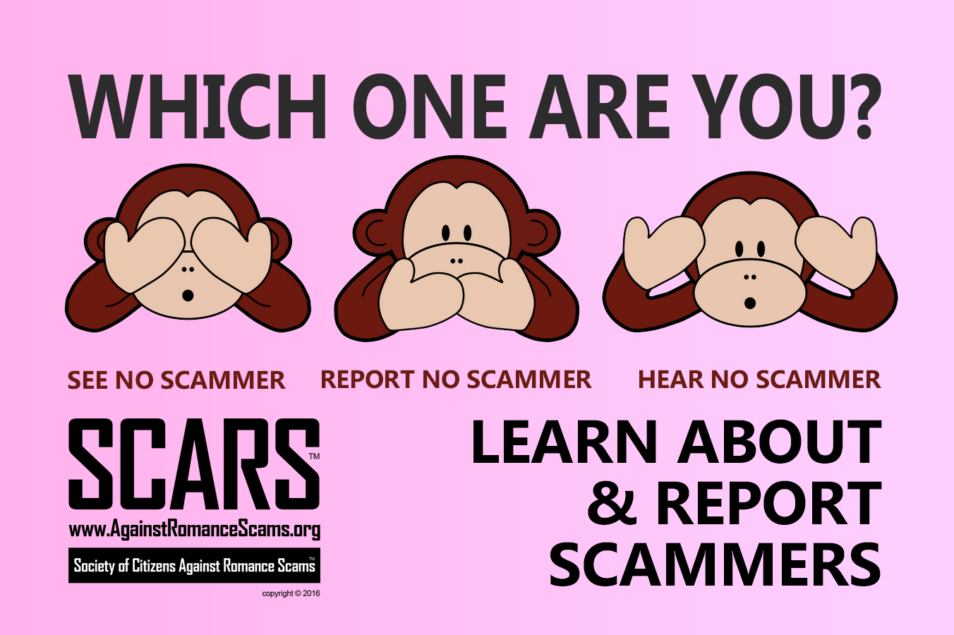 SCARS ™ / RSN™ Anti-Scam Poster 33