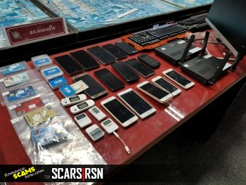 RSN™ SCAM NEWS: 20 More Chinese 'Fraudsters' Held After Pattaya, Thailand Raids 2