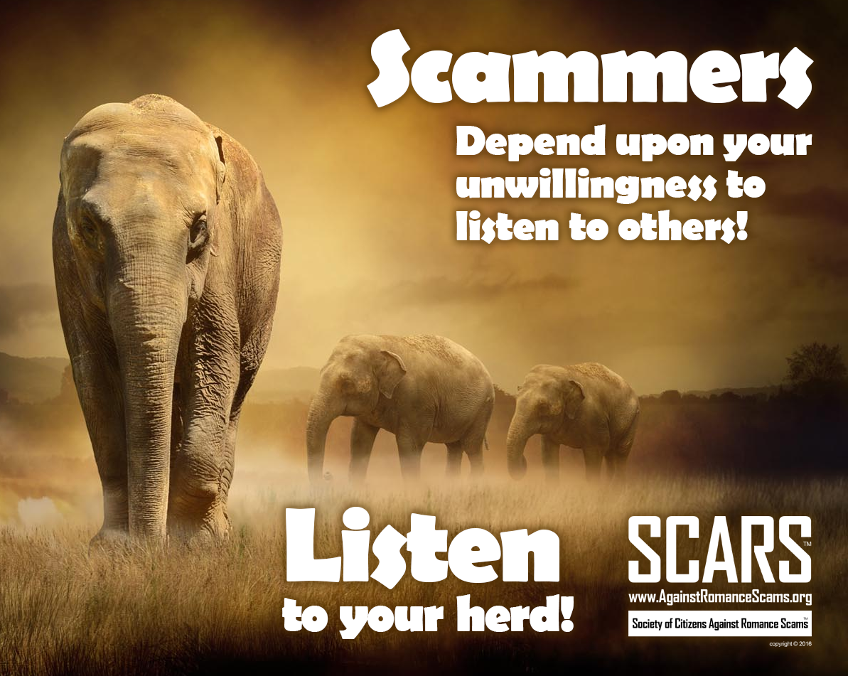 SCARS ™ / RSN™ Anti-Scam Poster 1