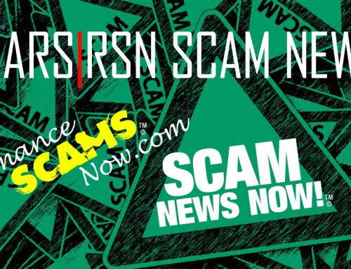 RSN™ Scam News: November 3 2018