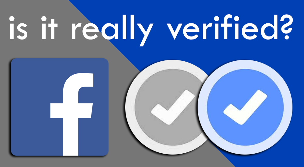 RSN™ Guide: Facebook Verified? 1