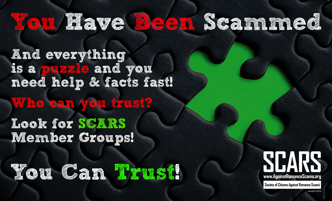 SCARS ™ / RSN™ Anti-Scam Poster 20