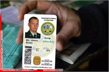 SCARS™ Scammer Gallery: Recent Fake Military IDs #35464 2