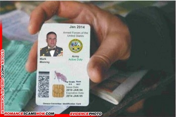 SCARS™ Scammer Gallery: Recent Fake Military IDs #35464 1