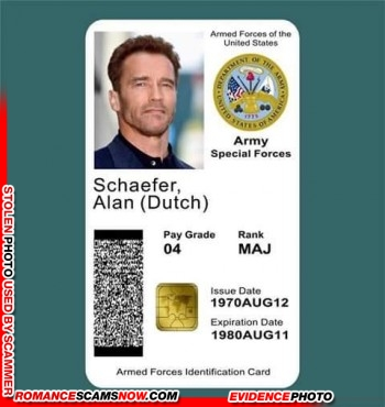 SCARS™ Scammer Gallery: Recent Fake Military IDs #35464 21