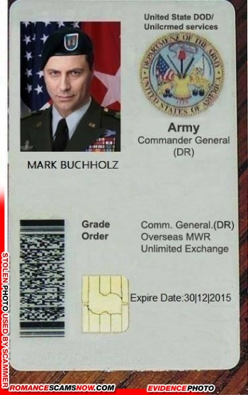 SCARS™ Scammer Gallery: Recent Fake Military IDs #35464 16