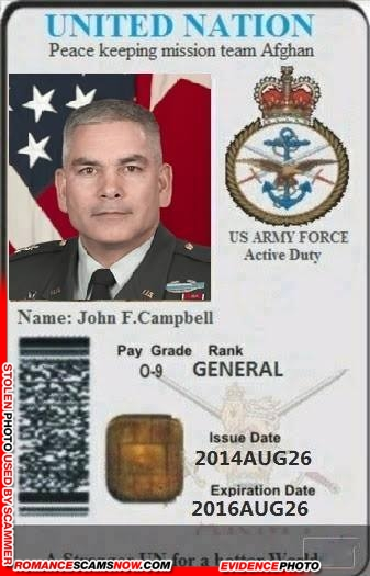 SCARS™ Scammer Gallery: Recent Fake Military IDs #35464 13
