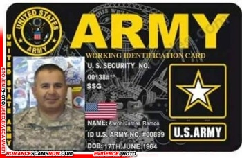 SCARS™ Scammer Gallery: Recent Fake Military IDs #35464 20