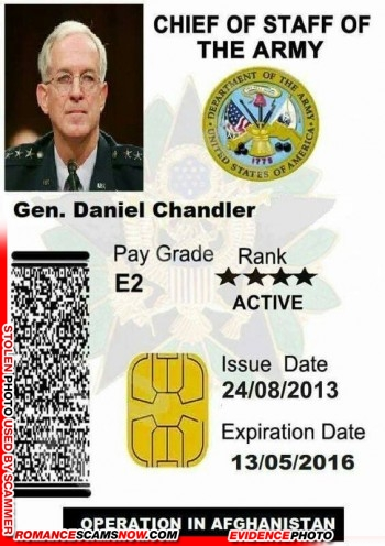 SCARS™ Scammer Gallery: Recent Fake Military IDs #35464 19