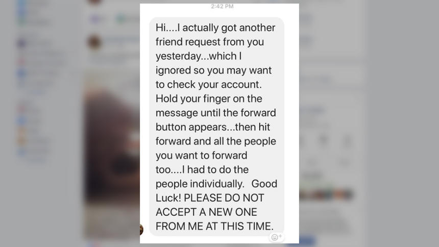 New Facebook scam is a hoax - which means it is a scam!