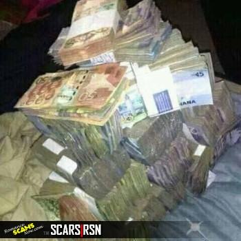 Ghana Money God Ritual Photo - Scammers Looking For God's Blessing