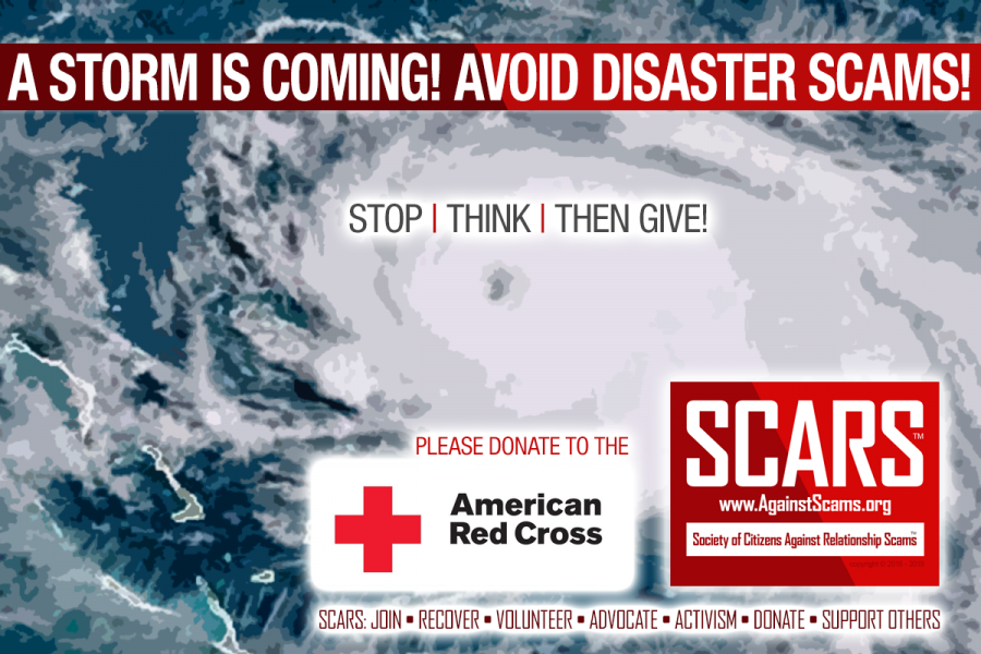 Avoid Natural Disaster Scams