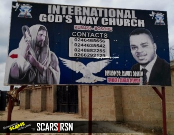 RSN™ Special Report: The Culture Of Scamming - Ghana Scammers Go To Church That Endorses Scams 14