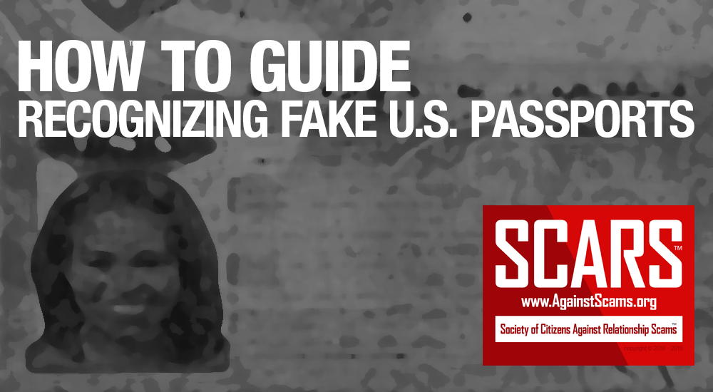 RSN™ How To: Spot Fake U.S. Passports 1