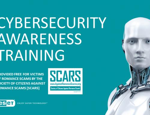 SCARS/ESET: Cybersecurity Awareness Training [Presentation / Slideshow]