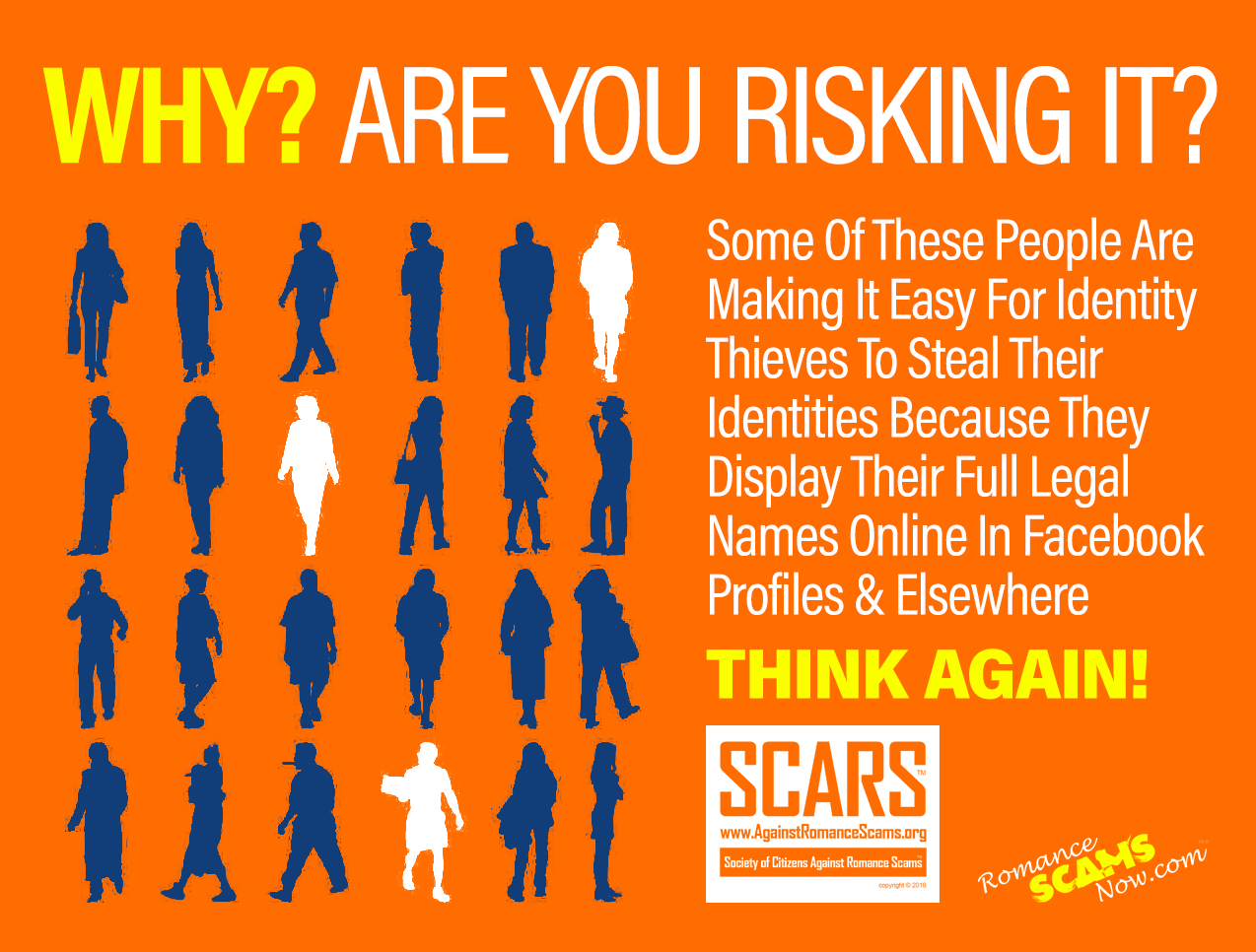 SCARS ™ / RSN™ Anti-Scam Poster 109