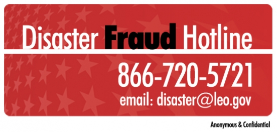NATIONAL CENTER FOR DISASTER FRAUD (NCDF)