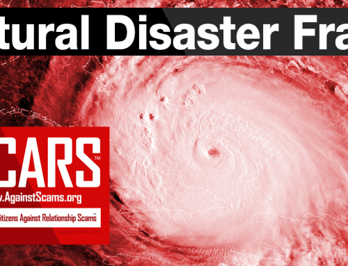 SCARS|RSN™ Guide: Natural Disaster Frauds & Scams