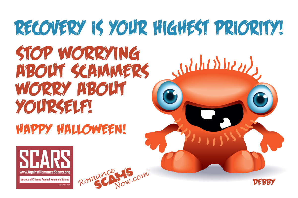 SCARS ™ / RSN™ Anti-Scam Poster: Recovery Is Your Highest Priority Now 94