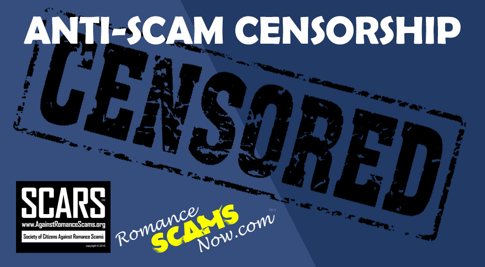 RSN™ Special Report: Anti-Scam Censorship 1