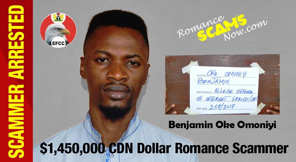 Benjamin-Oke Arrested In Nigeria