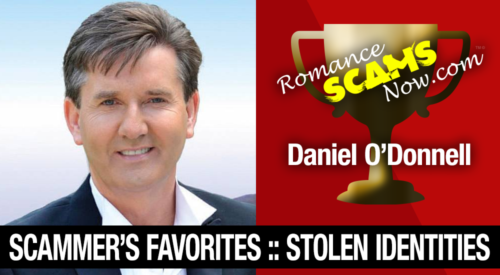 Stolen Face / Stolen Identity - Daniel O'Donnell : Do You Know Him? 1