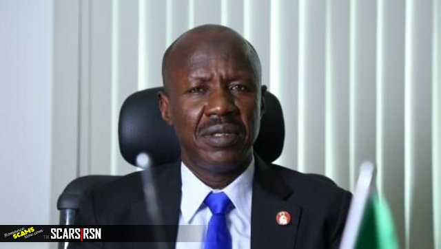 Acting Chairman of Economic and Financial Crimes Commission, EFCC, Ibrahim Magu