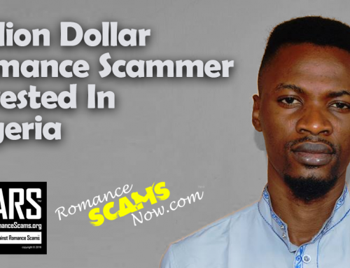 RSN™ Scam News: Nigerians Arrest $1,450,000 CDN Dollar Romance Scammer