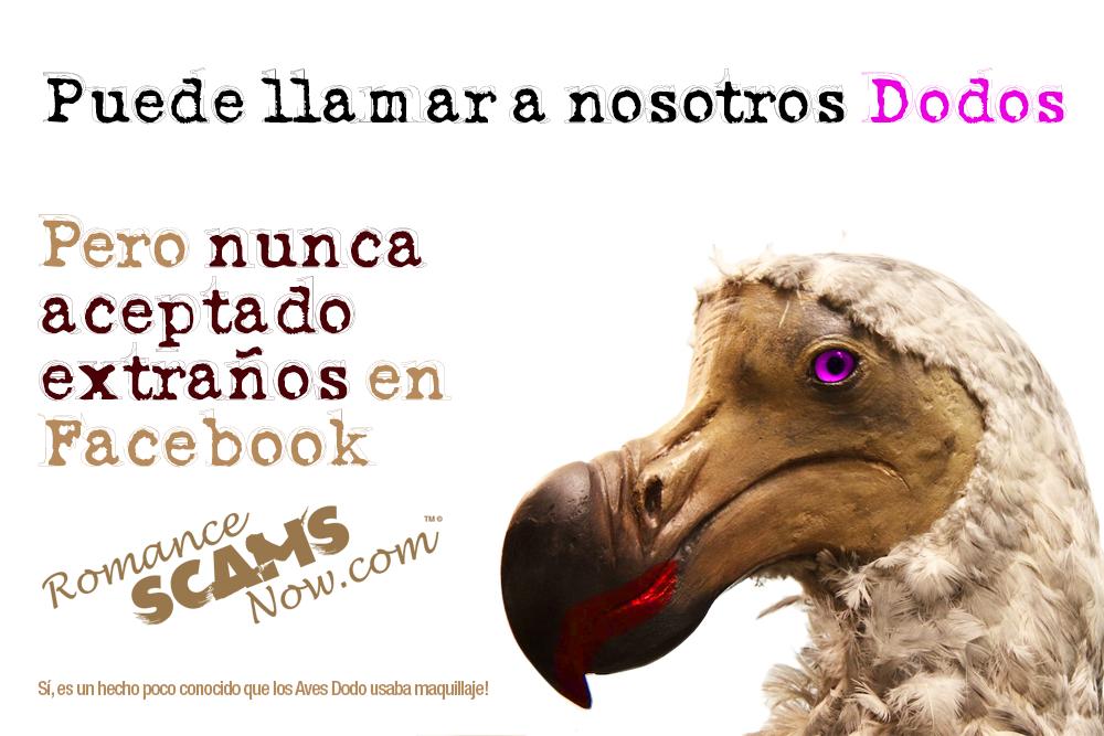 SCARS ™ / RSN™ Anti-Scam Poster: Dodo 1