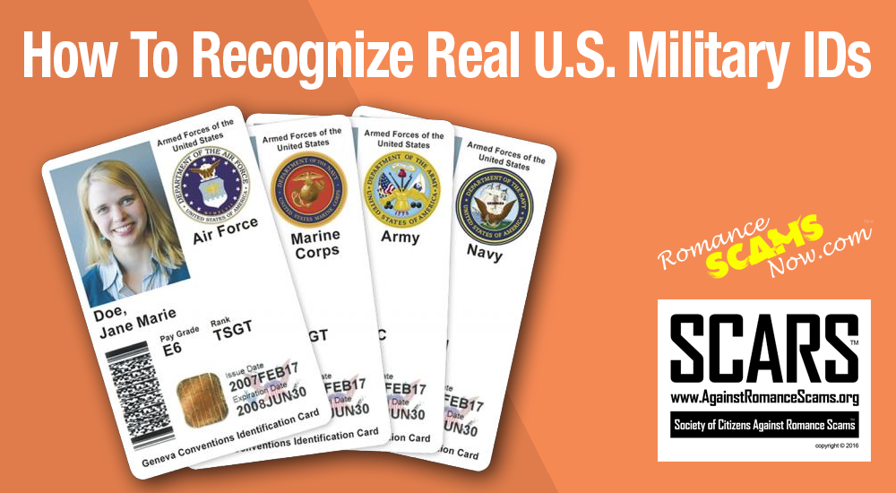 RSN™ Guide: How To Spot Fake United States Military ID Cards