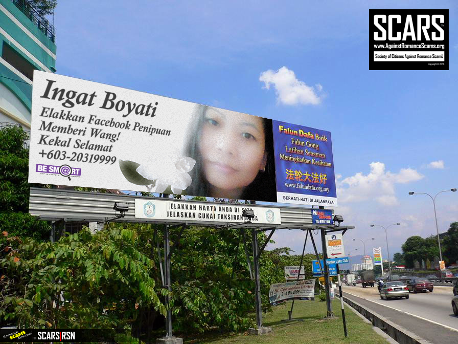 Southeast Asian Billboards featuring Boyati Miskun