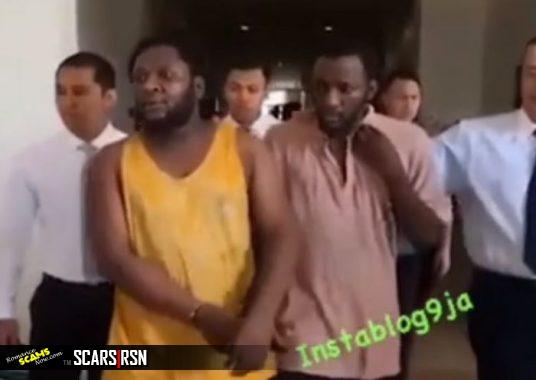 Nigerian Scammers Egwuasu Bernard Nnaemeka and Egwuasu Chimiezi Benjamin Arrested In Malaysia