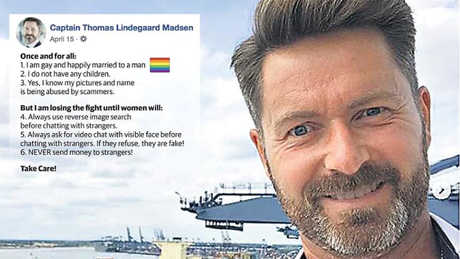 Thomas Lindegaard Madsen Anti-Scam Poster