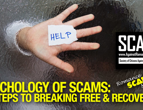RSN™ Psychology Of Scams: 10 Steps To Breaking Free & Recovering