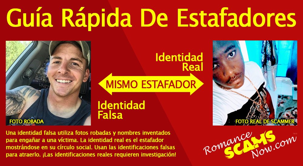 SCARS ™ / RSN™ Anti-Scam Poster: Guia Rapido De Estafadores 1