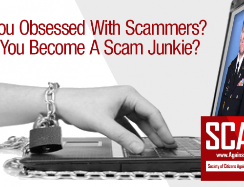 SCARS™ Psychology Of Scams: Scam Obsession – Becoming Scam Junkie