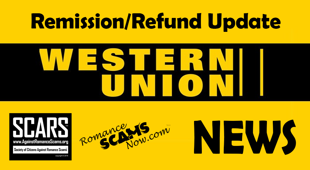 RSN™ Special Report: Western Union Remission/Refund Program Update/News 2
