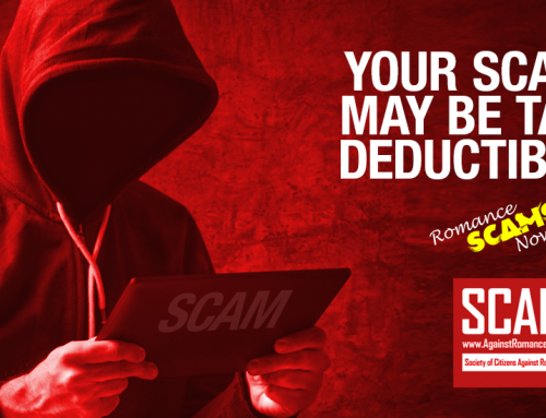 Deducting Scams Form Your U.S. Income Tax – SCARS|RSN™ Guide