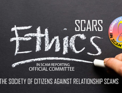 SCARS™ Official Document: Standard for Ethics in Scam Reporting