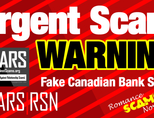 SCARS|RSN Special Report & Scam Warning: New Fake Bank Scam