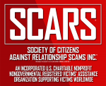 SCARS the Society of Citizens Against Relationship Scams Inc