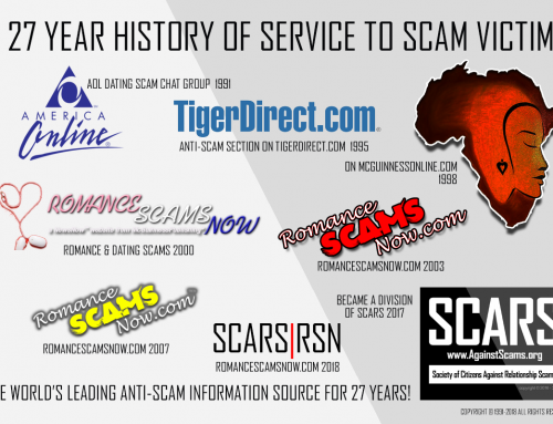 SCARS™ Anti-Scam Poster: 27 Years Of Service