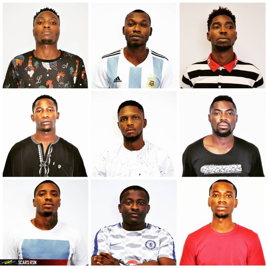 The Economic and Financial Crimes Commission, EFCC have arrested nine Internet fraudsters popularly known as Yahoo-Yahoo boys, in Abuja.