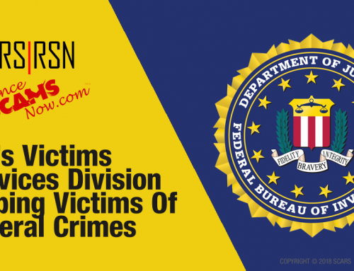 SCARS|RSN™ Special Report: Getting Help From The FBI