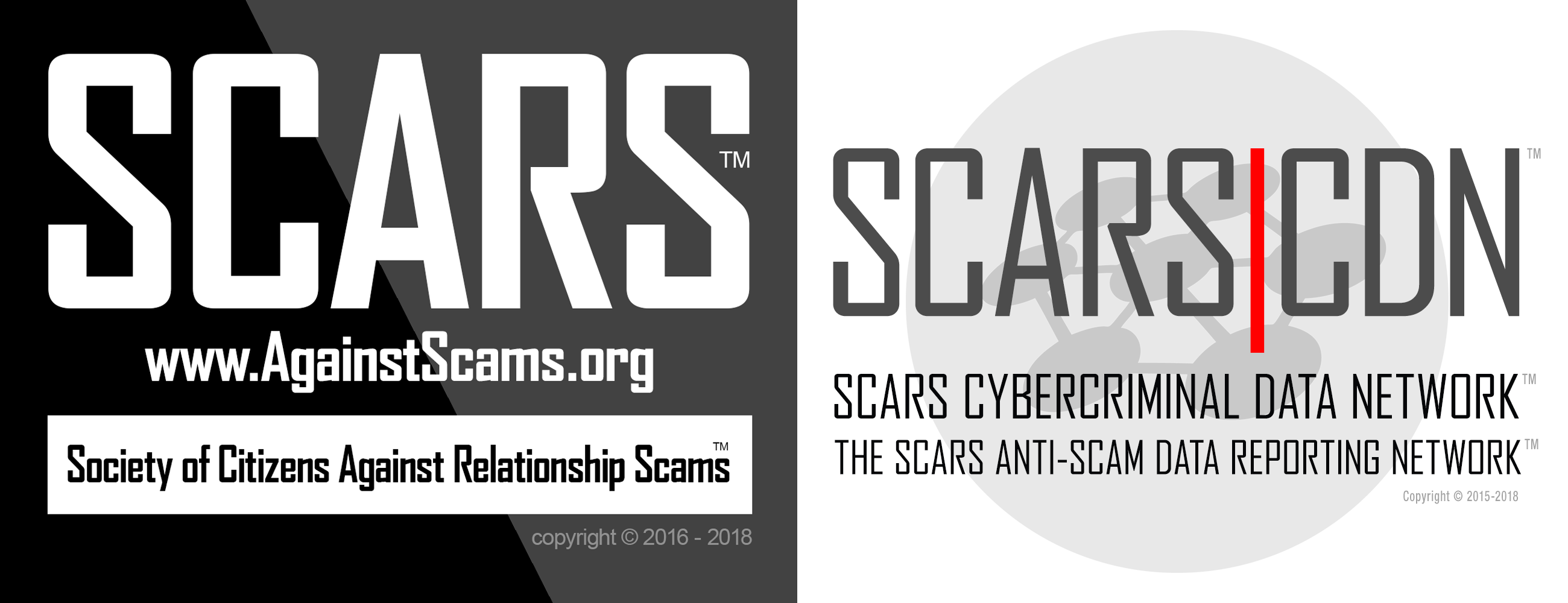 SCARS|CDN™ the SCARS Cybercrime Data Network™ - an Anti-Scam Data Reporting Network Connected Website