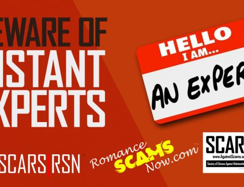 SCARS|RSN™ Insights: Scam Victim Saviors