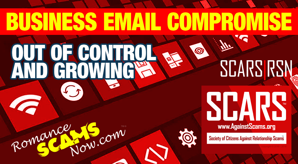 SCARS|RSN™ Scam Warning: FBI Warns American Business Owners of Business E-Mail Compromise Scam 3